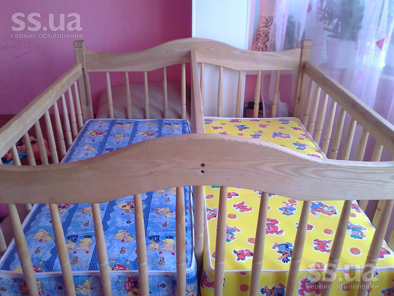 Кроватки для новорожденных двойняшек фото