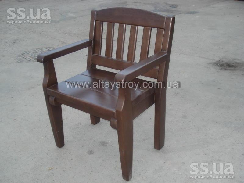 Деревянные стул кресло своими руками