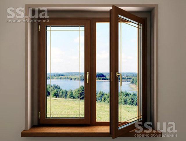 Ss.ua: деревянные окна, двери, балконы. энергосберегающие....
