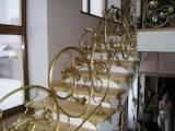 Строительные работы,  Окна, двери, лестницы, ограды Лестницы, цена 1200 Грн./m2, Фото