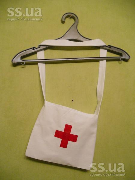 Как сшить сумку санитарки