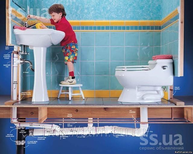 Водоснабжение ванной комнаты в частном доме своими руками 6