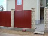 Строительные работы,  Окна, двери, лестницы, ограды Заборы, ограды, цена 650 Грн., Фото