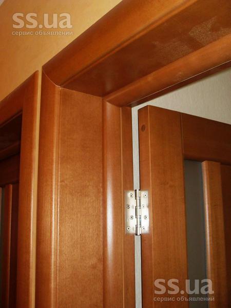 Установка межкомнатных дверей с доборами