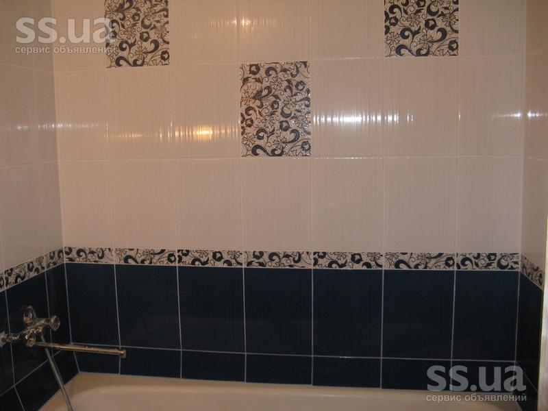 Декор ванной комнаты плиткой фото