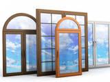 Строительные работы,  Окна, двери, лестницы, ограды Окна, цена 50 Грн., Фото