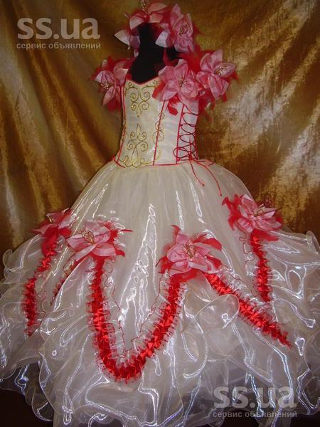 Детская одежда, обувь Вечерние, бальные платья, цена 200 Грн., Фото.