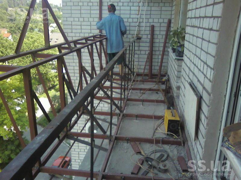 Ss.ua: балконы, лоджии любой сложности(обшивка внутреняя - о.
