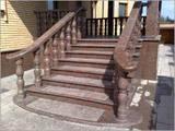 Стройматериалы Ступеньки, перила, лестницы, цена 500 Грн., Фото