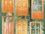 Двери, замки, ручки,  Двери, дверные узлы Из массива, цена 1900 Грн., Фото