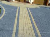 Будівельні роботи,  Будівельні роботи Укладання дорожньої плитки, Фото