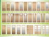 Двери, замки, ручки,  Двери, дверные узлы Из массива, цена 1700 Грн., Фото