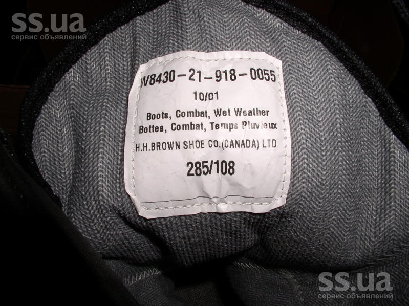 SS.ua  Продам новые канаддские берцы размер 45-46 стелька c0847c1bd3dde