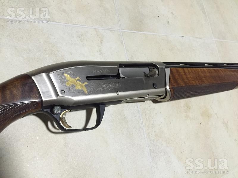 Ружье Browning Maxus пороховых газов
